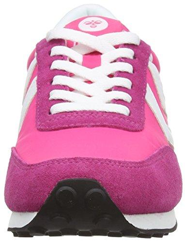 Hummel Seventyone Lo, Sneaker Basse Unisex - Adulto Fucsia