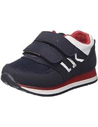 Lumberjack Sb07505-004 Sneakers Bambino Tessuto Blu Blu 32