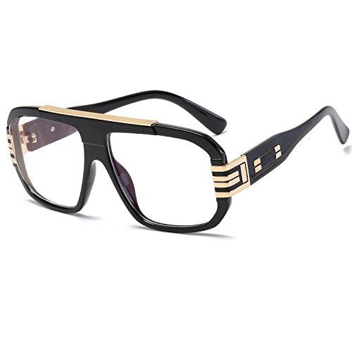CVOO Fashion Vintage Oversize Cat Eye Sunglasses Women Brand Designer Sun Glasses Female Retro Big Mirror Ladies Eyewear