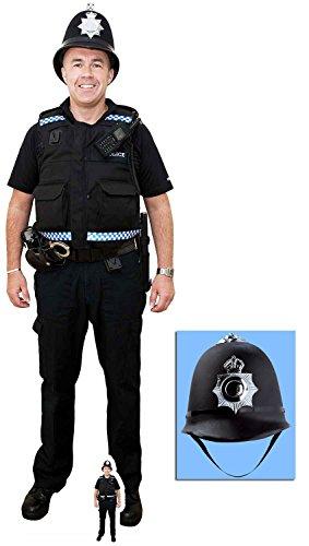 acks by Starstills Britischer Polizist Lebensgrosse und Klein Pappaufsteller - mit 25cm x 20cm Foto ()