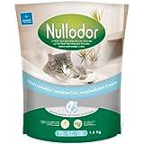 Nullodor Katzenstreu, Silikat-Kristalle, für empfindliche Katzen, 1,5kg