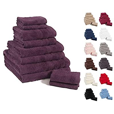 Linens Limited Simplicity 100% Egyptian Cotton 10 Piece Towel Bale