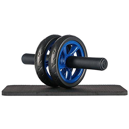 Ultrasport Bauchtrainer ab Wheel Platzsparender Bauchmuskeltrainer für Zuhause
