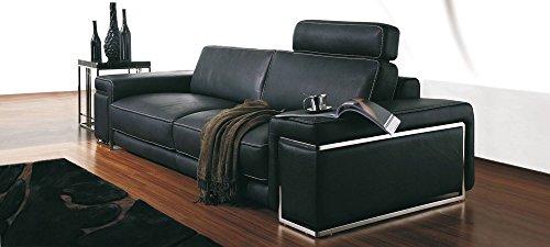 Calia maddalena - poltrona per divano in pelle torino, pelle smerigliata verde
