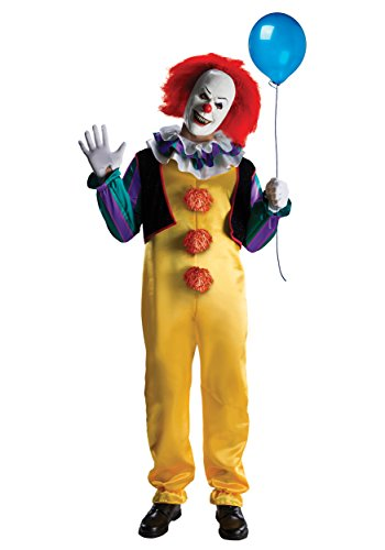 Deluxe Pennywise Fancy dress costume Large