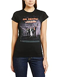 One Direction Women San Siro Movie Crew Neck Short Sleeve T-Shirt