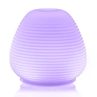 ARIA Glass : Made By Zen Ultrasonic Aroma Diffuser with Mood Lighting