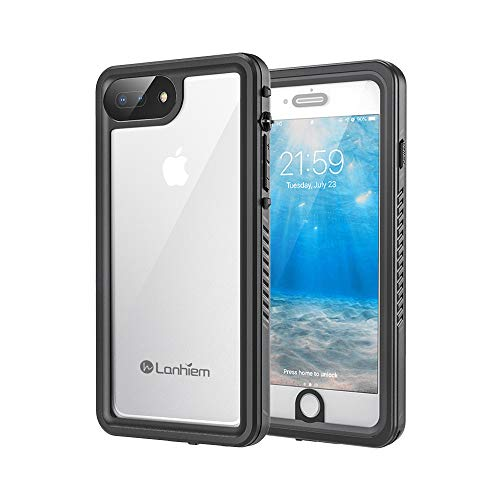 Lanhiem Funda Impermeable iPhone 7 Plus iPhone 8 Plus