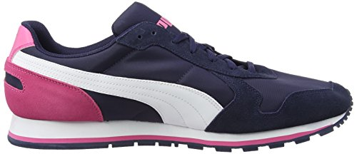 Puma St Runner Nl Scarpe da Corsa, Unisex adulto (Multicolor (Peacoat-White-Carmine Rose))