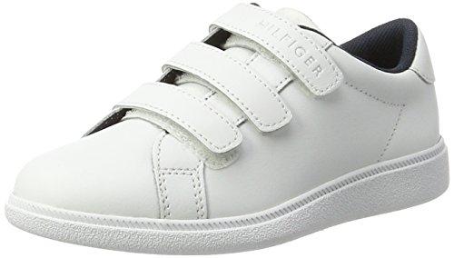Tommy Hilfiger Jungen D3285ANNY JR 3A Sneaker, Weiß (White), 32 EU