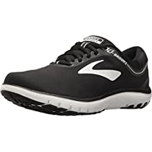 Brooks Women's PureFlow 7 Running Shoes, Multicolour (Black/White 048), 5 UK