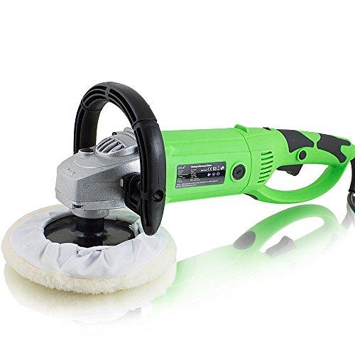 *BITUXX® Auto Poliermaschine 1500Watt Schleifmaschine Autopolierer Poliergerät mit drehbaren Griff*