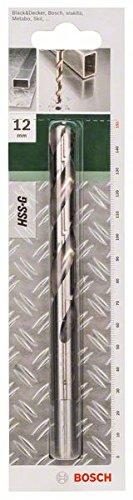 Bosch Metallbohrer HSS-G geschliffen (Ø 12 mm)