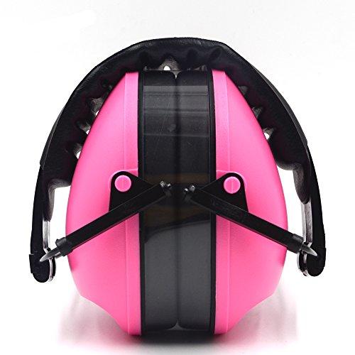 Cuffie con archetto imbottito confortevole e approvato CE conforme per ripresa/caccia protezione dell' udito,