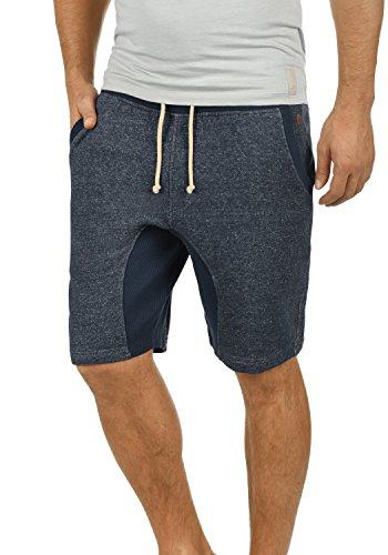 BLEND Smash Herren Sweat-Shorts kurze Hose Sport-Shorts aus 100% Baumwolle Navy (70230)
