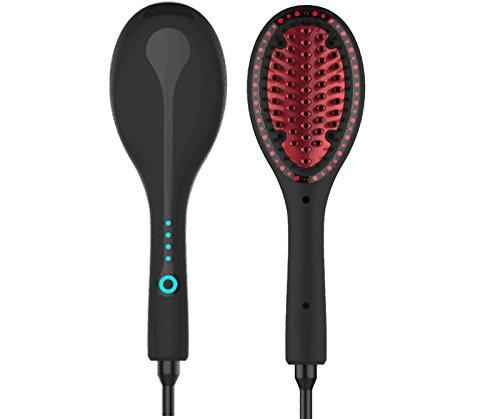 Peigne en céramique cheveux raides/Straightener attelle/peigne à cheveux Ion