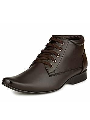 Mactree Men's Brown Formal Shoes-10 UK/India (44 EU)(mac2017brown_10)