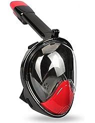 Lidaway Unterwasser-Tauchmaske Schnorchel-Set Vollgesichtsatmung Schnorchel-Maske mit Anti-Fog und Anti-Leck-Technologie passt für alle Swim-Neulinge und Taucher