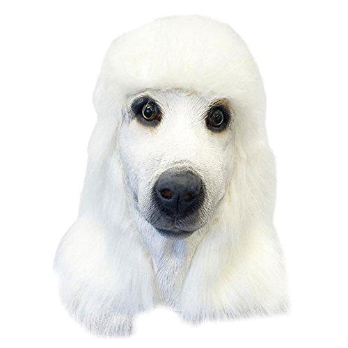 Queenshiny® Latex Tiermaske Halloween-Party-Kostüm (Pudel)