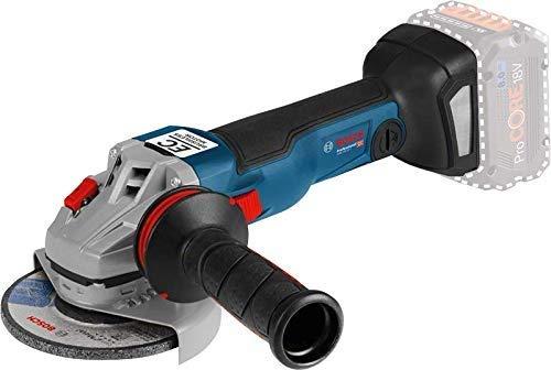 Bosch Professional GWS 18V-10 C - Amoladora angular a batería (sin batería, 18V, 9000 rpm, conectable, disco Ø 125 mm, en caja)