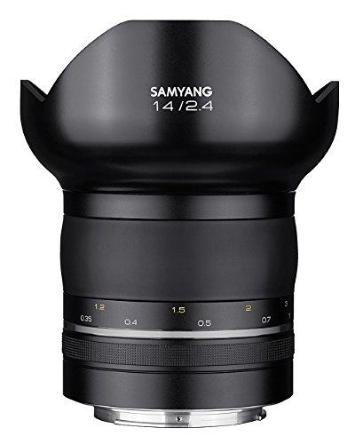 Samyang XP 14mm F2.4 Nikon F - manuelles Ultraweitwinkel Objektiv, 14 Festbrennweite für Vollformat & APS-C Kameras mit F Anschluss, ideal für Architektur und Nachtaufnahmen