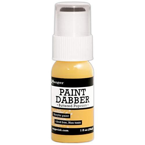 Ranger Acrylfarben-Tupfer Buttered Popcorn, gelb -