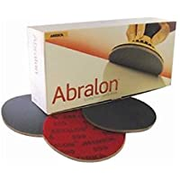 Discos para lijar Abralon 4000 de Mirka, 150mm de diámetro