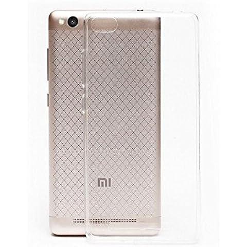 Funda de Gel TPU protección antigolpes Xiaomi Redmi 3 Transparente