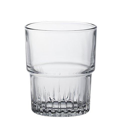 Duralex - Empilable vasos de vidrio 160ml, apilable, sin la marca de l