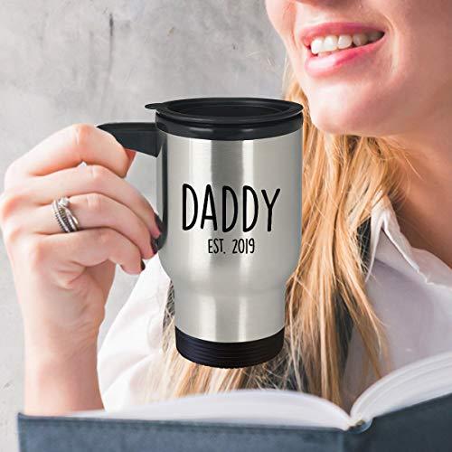 Taza de viaje con cita divertida para papá