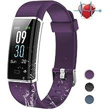 Pulsera Actividad Inteligente con Pantalla Color, BANLVS Pulsera Actividad con 14 Modos Deportes y Impermeable
