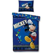 Personaje Mickey espuma funda de edredón + funda de almohada 140x 200cm Editorial 2018+ Plus regalo Disney