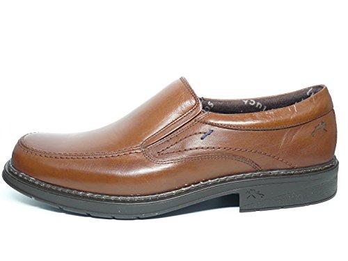 Zapatos hombre tipo mocasín FLUCHOS - Piel color