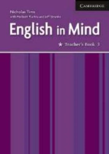 English in Mind 3 Teacher's Book