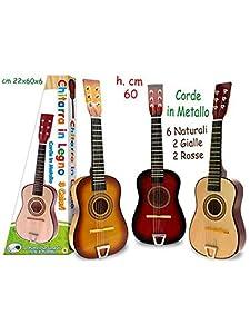 TEOREMA 04099-Guitarra de Madera, Colores Surtidos