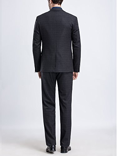 Tsui-Fashion - Costume - Slim - Homme Schwarz
