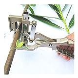 Lianqi Strumento professionale di Nuovo tipo a forbici V forma di taglio di coltelli da taglio Pruner Giardini e frutteto Strumenti per l'innesto Bonsai Alberi e viti di frutta