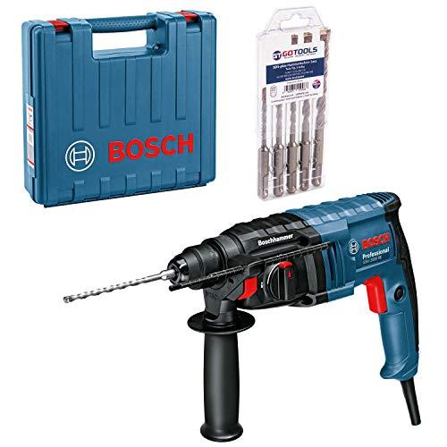 Bosch Bohrhammer Meisselhammer GBH 2-20 D SDS-plus + Zubehör im Handwerkerkoffer