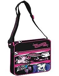 Monster High-Bolso bandolera, diseño de Monster High, 24 cm
