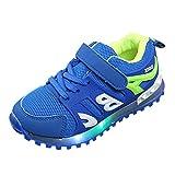 Zapatillas para Niños Niñas con Luces LED Deporte Running Unisex Verano Otoño 2018 Moda PAOLIAN Zapatos de Bebés Niños Calzado Breathable Deportivo de Exterior Casual Bambas