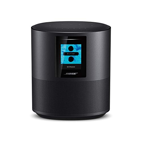 Bose - Home Speaker 500, sonido estéreo, con Alexa integrada, triple negro