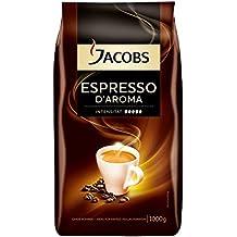 Jacobs Espresso D'Aroma - granos de café (Café expreso, Bolsa)