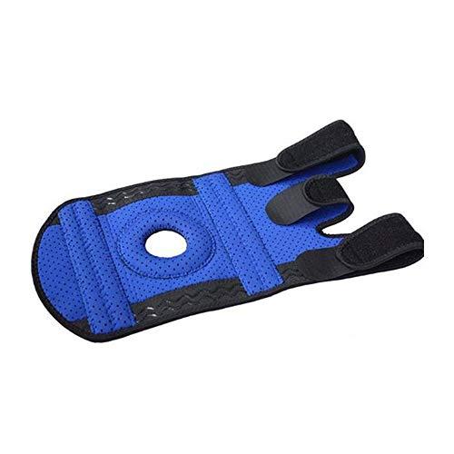 ERAPPTE Elastische Kniebandage Knieschützer Outdoor Sports Care (Blau) für Sport Bodybuilding und die alltägliche Nutzung - für Herren und Damen