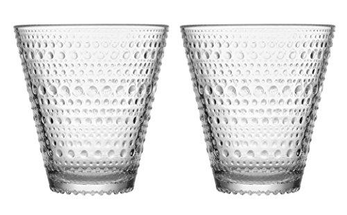 Iittala 1018763 Kastehelmi Trinkglas 30 cl, 2-er Set, klar