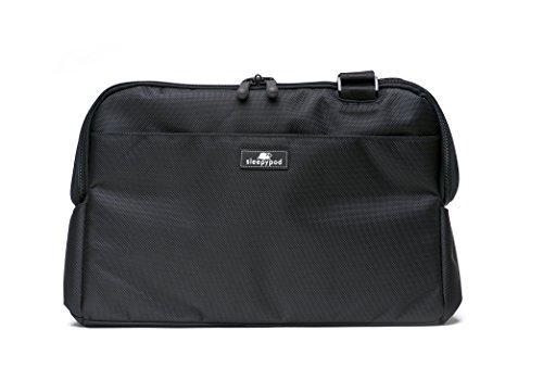 Preisvergleich Produktbild Sleepypod Atom (Farbe: Jet Black) Hundetragetasche Katzentragetasche gemäß IATA