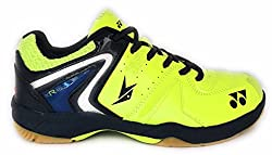 Yonex Badminton Shoes SRCR40LD Lime Green/Blue UK8
