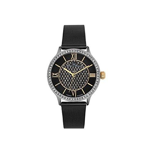 Reloj mujer Yonger & Bresson negra–DCC 096s-3am