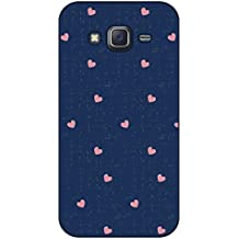 Happoz Samsung Galaxy J7 Cases Back Cover Mobile Pouches Shell Hard Plastic Graphic Armour Premium Printed Designer Cartoon Girl 3D Funky Fancy Slim Graffiti Imported Cute Colurful Stylish Boys D365