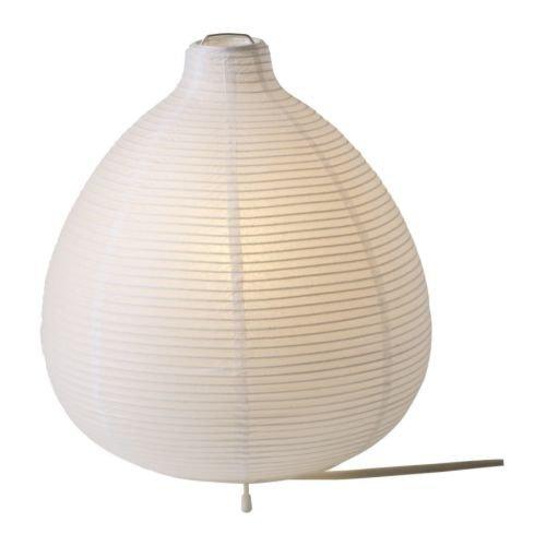 Lampade Carta Di Riso.Ikea Lampada Da Tavolo Vaete 26 Cm Bianco Carta Di Riso Acciaio
