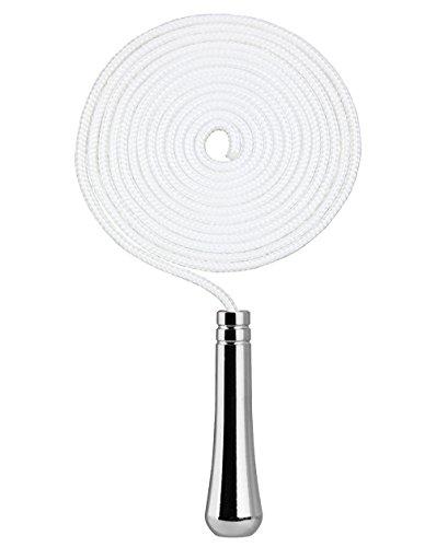 Griff-schalter-schnur (SFTlite Licht Pull Cord Teardrop Verlängerung Mit Kabel Stecker 150 cm Lange Badezimmer Wc Schalter Verchromt Deckenventilator Licht Pull Cord)